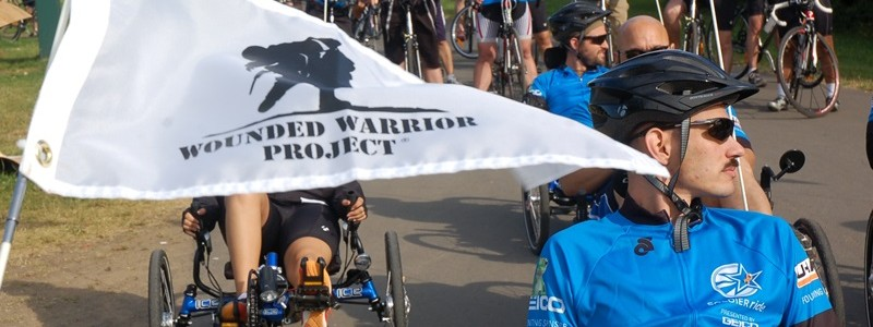 Wounded warriors and staff members from coaltion forces and the Warrior Transition Battalion-Europe stage at the starting line of the 12-mile ride around Bostalsee, August 2. The four-day Soldier Ride, which host 24 coalition and 33 U.S. service members from around Europe, ends with a community ride, held at Lake Bostalsee, Aug. 4. (Photo by U.S. Army Staff Sgt. Brooks Fletcher, U.S. Army Europe Public Affairs)