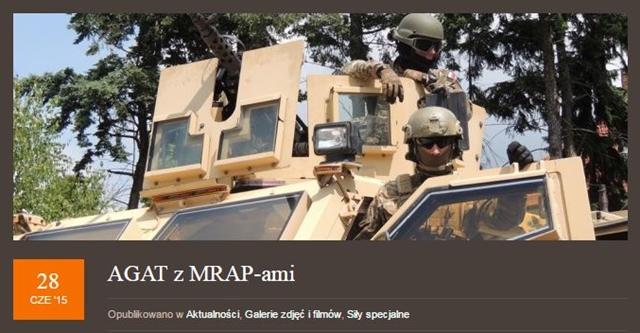 Agat Mrap M-ATV Gliwice